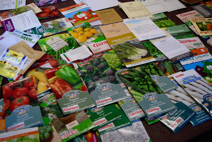 First Henley Seed Swap Gardeners Allotment Association Council Transition