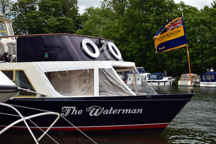Royal British Legion Henley & Peppard Branch 90th Anniversary Cruise The Waterman