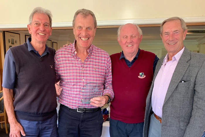Henley Golf Club Raises Money For Nasio Trust Charity Jigger Flea Project